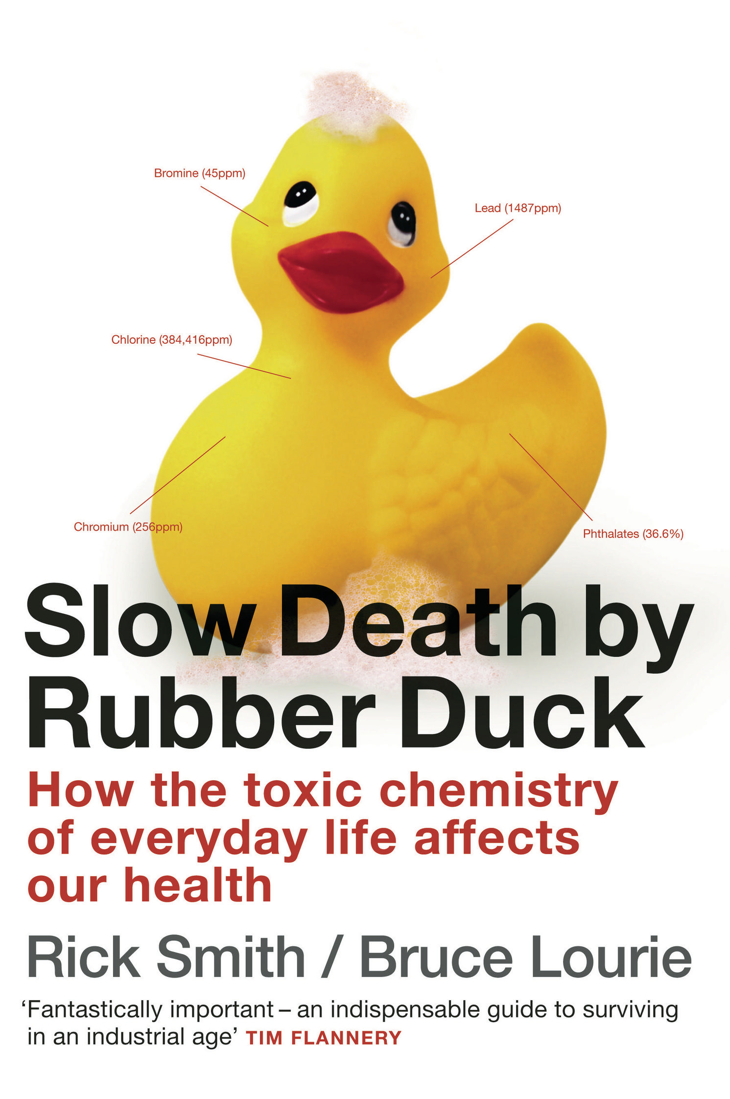 Slow death by rubber duck by rick smith and bruce lourie the provocative and groundbreaking slow death by rubber duck reveals how the living of daily life creates a toxic soup inside each of us fandeluxe Image collections