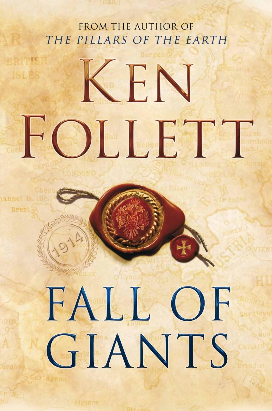 KEN FOLLETT, author of Fall of Giants, answers Ten