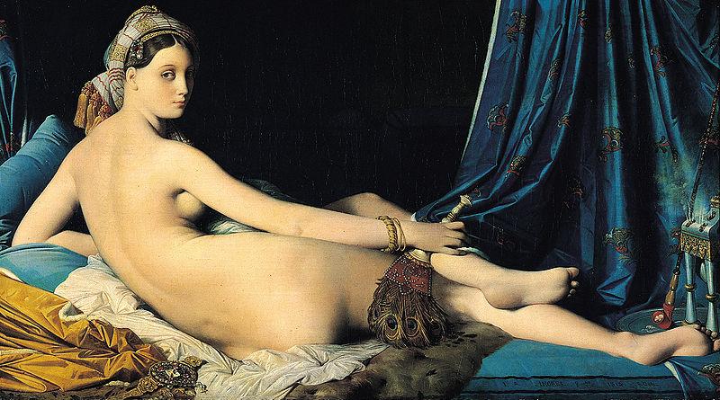 Jean Auguste Dominique Ingres, La Grande Odalisque,1814