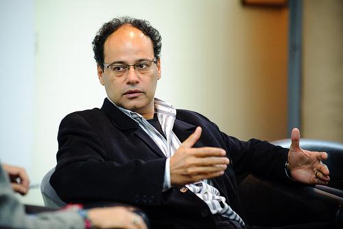 Jamal Mahjoub. Photo by Stephan Röhl.