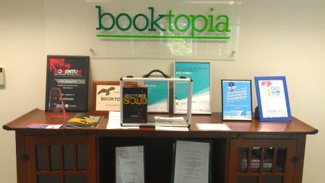 Bond Arrives At Booktopia