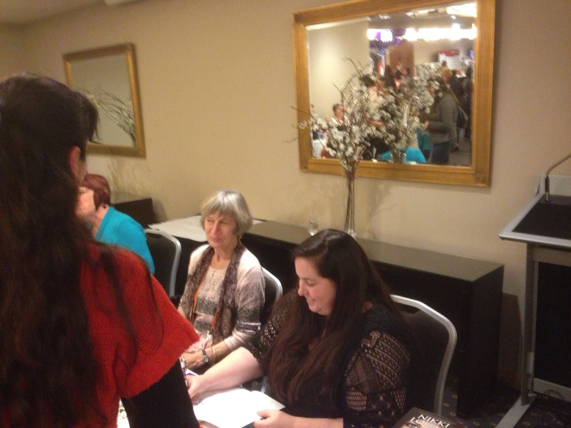 Isolde Martyn and Nikki Logan