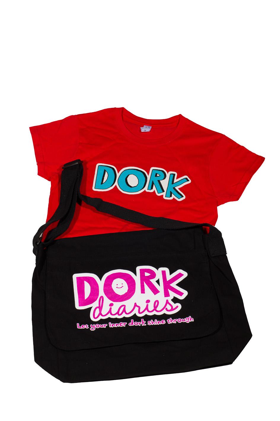 dork diaries pack tshirt front