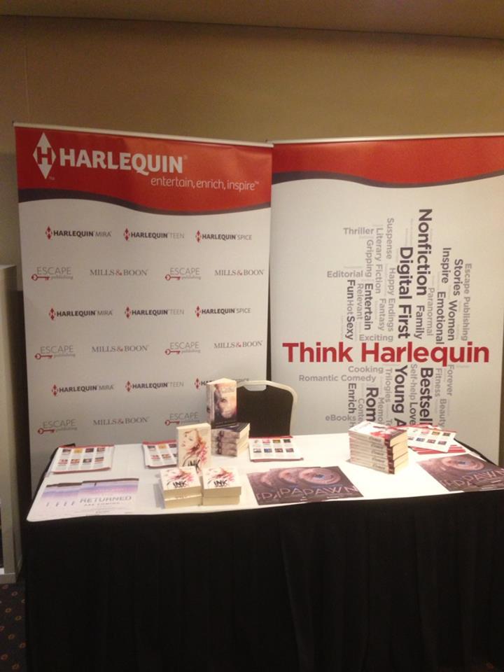 Harlequin stand