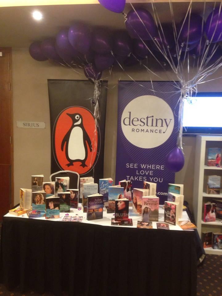 Penguin/Destiny Romance stand