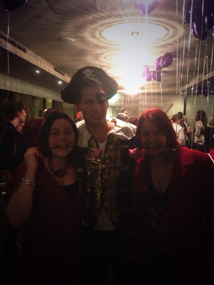 Rachael, a pirate and a friend