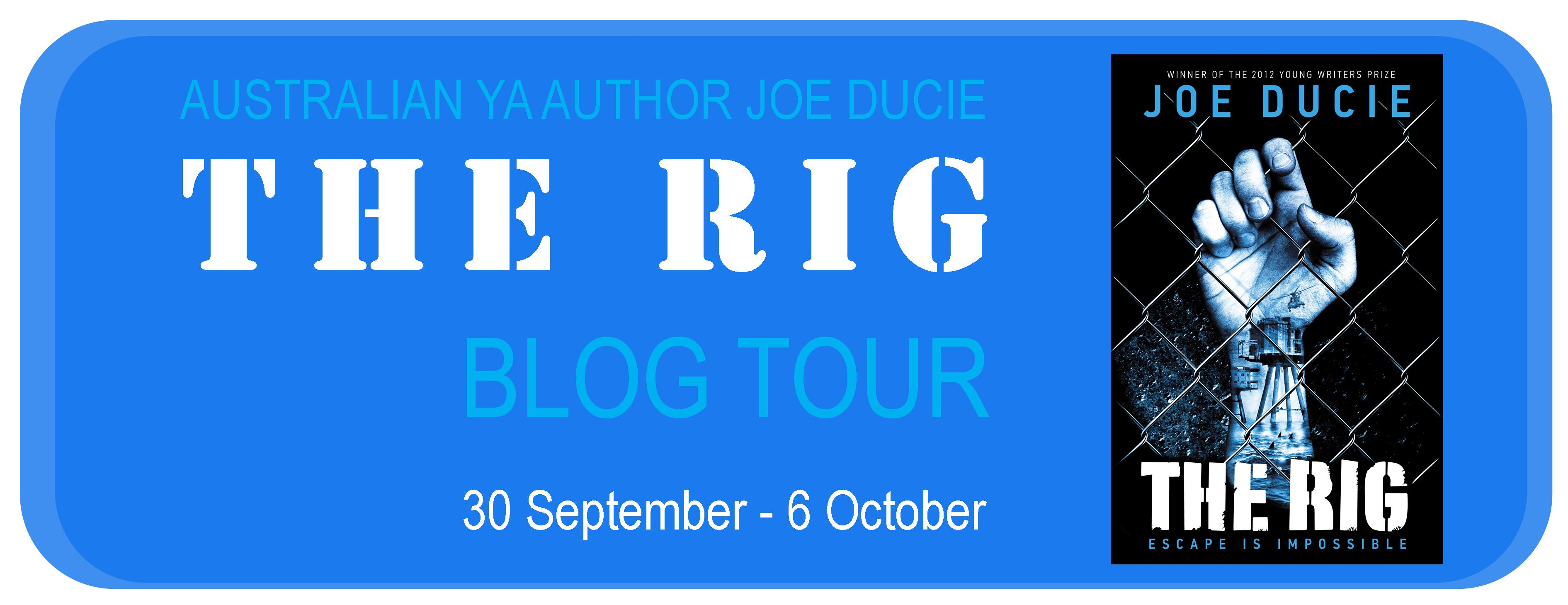 The Rig Blog Tour banner