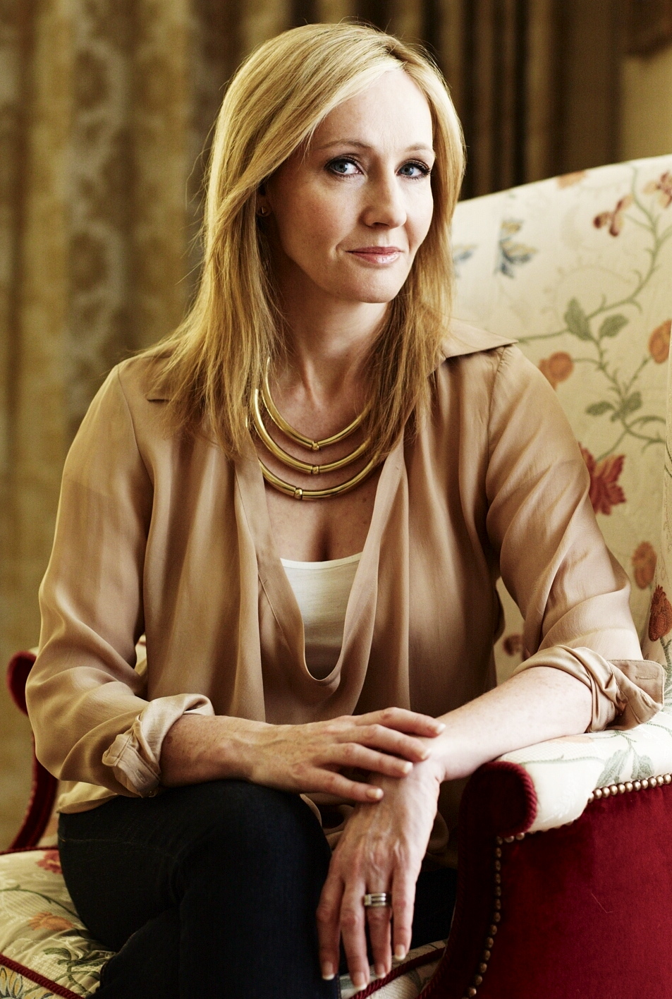 """an examination of the famous novel harry potter series by jk rowling Nearly seven years after publishing the final book in the harry potter series, jk rowling has given fans an update on writes that his """"famous ginger hair."""