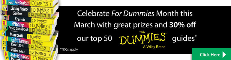 Dummies Month homepage banner