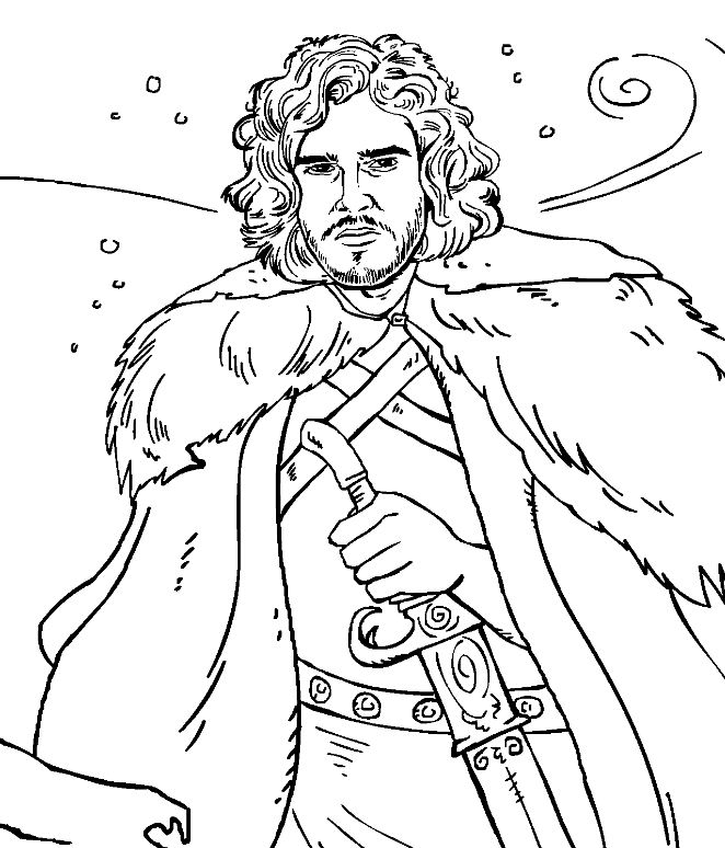 You Know Nothing About Colour Jon Snow