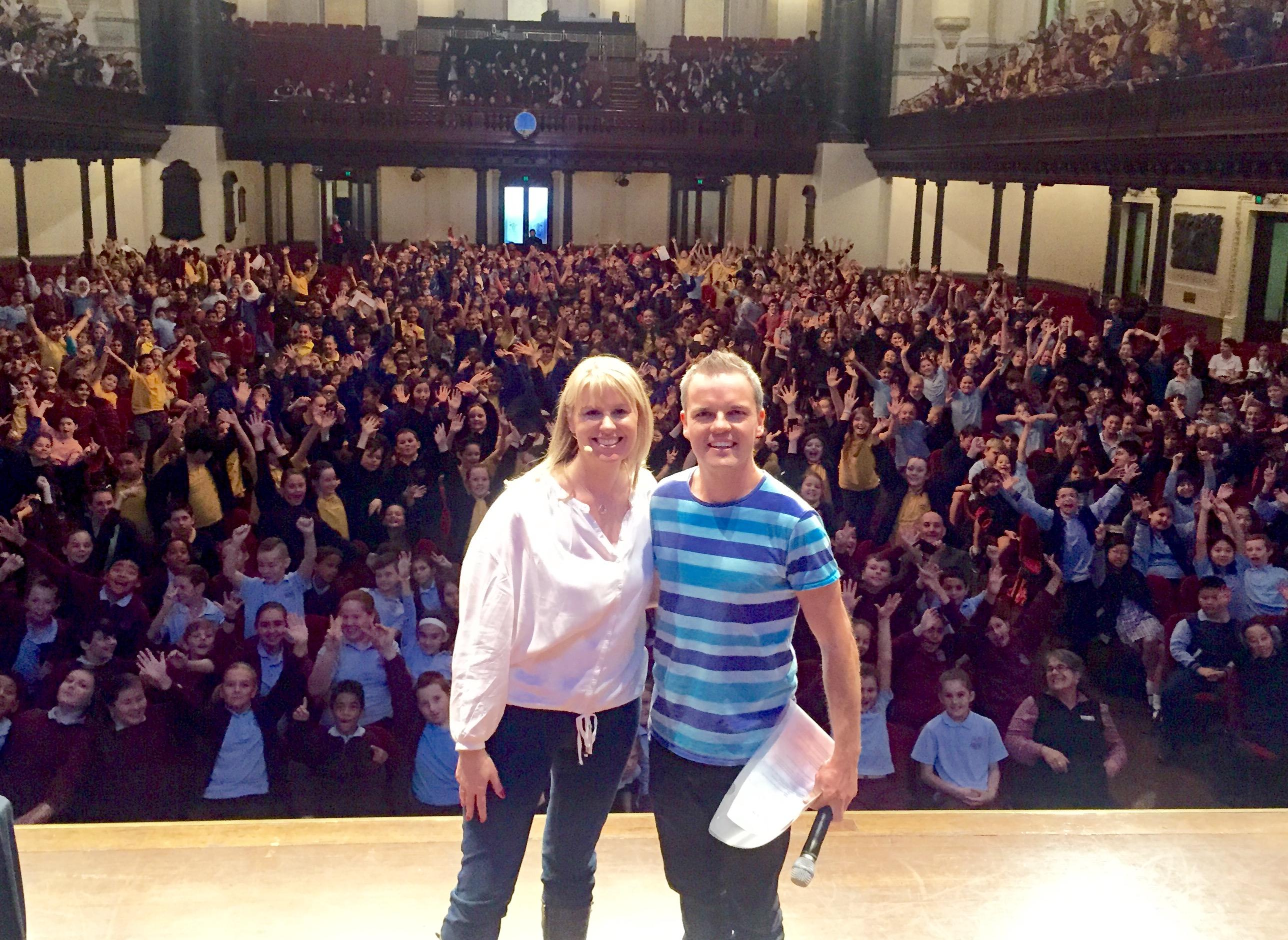 Bestselling children's authors Tristan Bancks & Jacqueline Harvey!