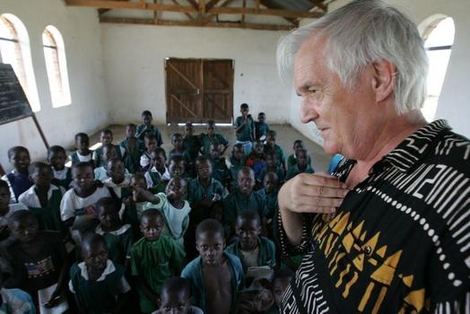 Henning Mankell in Africa
