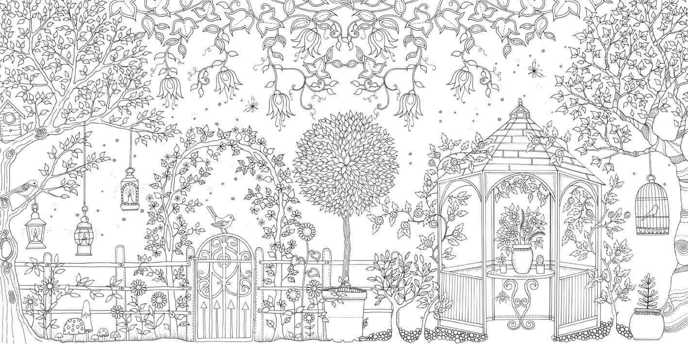 Adult Colouring Queen Johanna Basford To Have Two New Books In