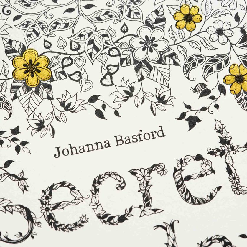 Adult Colouring Queen Johanna Basford To Have Two New Books In 2016