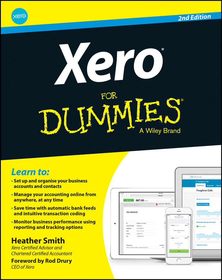 Xero For Dummies: 2nd Editionby Heather Smith