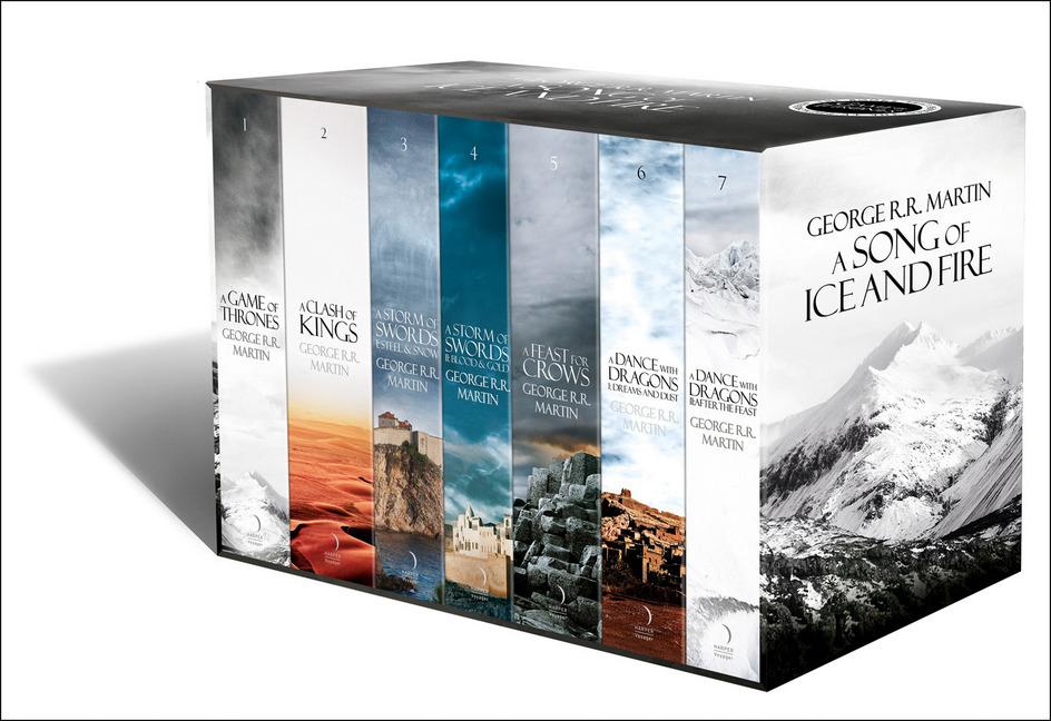 A Game of Thrones: The Story Continuesby George R. R. Martin