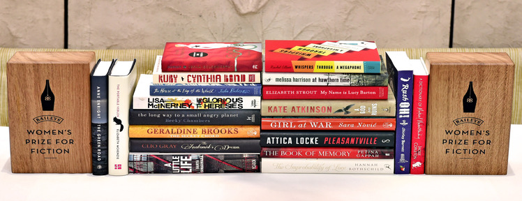8th March 2016: The Baileys Women's Prize for Fiction announces its 2016 longlist, comprised of 20 books that celebrate the best of fiction written by women