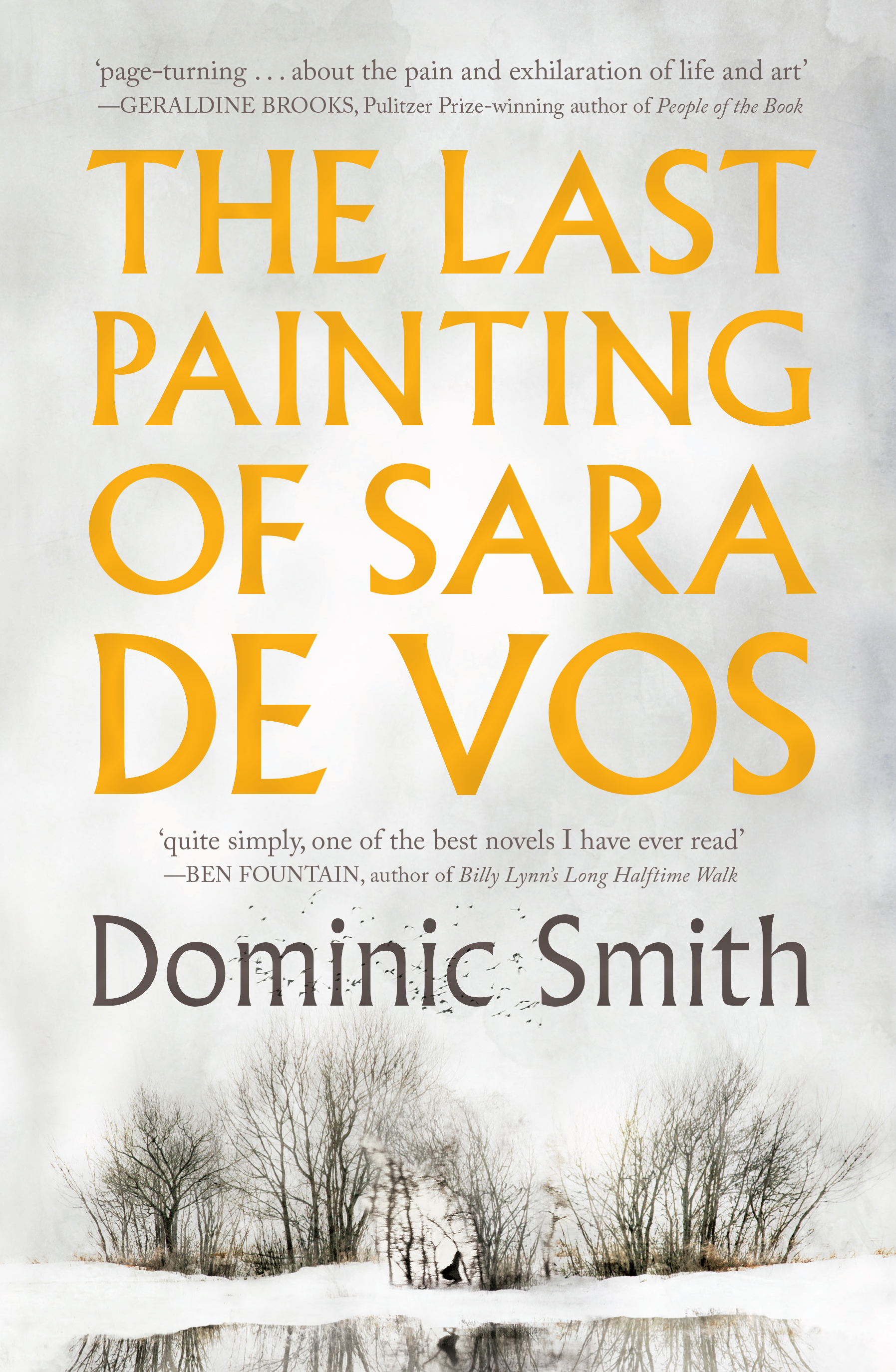 The Last Painting of Sara De Vosby Dominic Smith