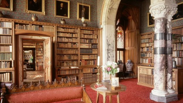 Mount Stuart House Library