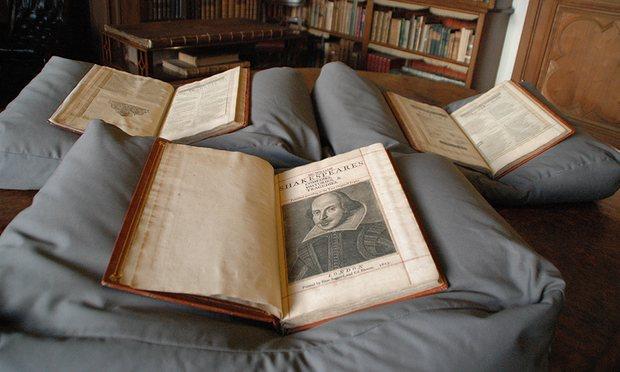 Shakespeare new folio