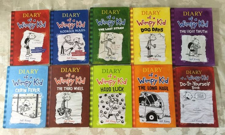 wimpy kid 10 books