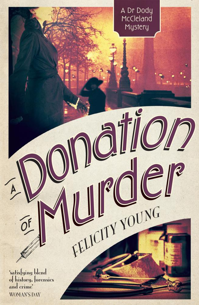 A Donation of Murderby Felicity Young