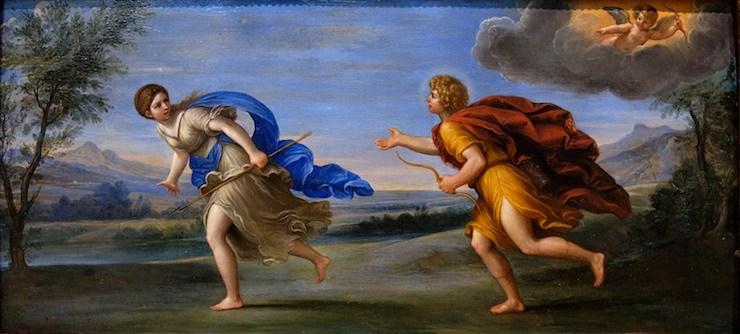 """""""Apollo and Daphne"""" by Francesca Albani, c.1615"""