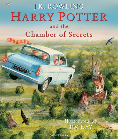 Harry Potter and the Chamber of Secretsby J. K. Rowling, Jim Kay (Illustrator)