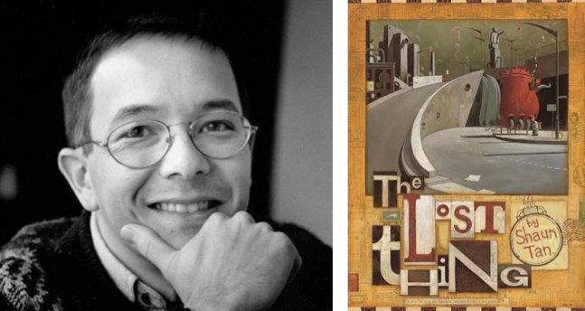 Top 50 Favourite Australian Authors: Shaun Tan