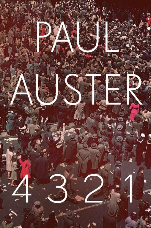 4 3 2 1by Paul Auster
