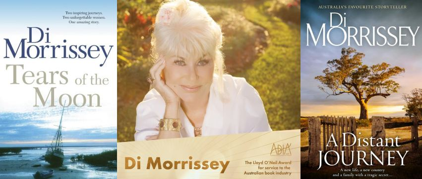 Di Morrissey's book collection