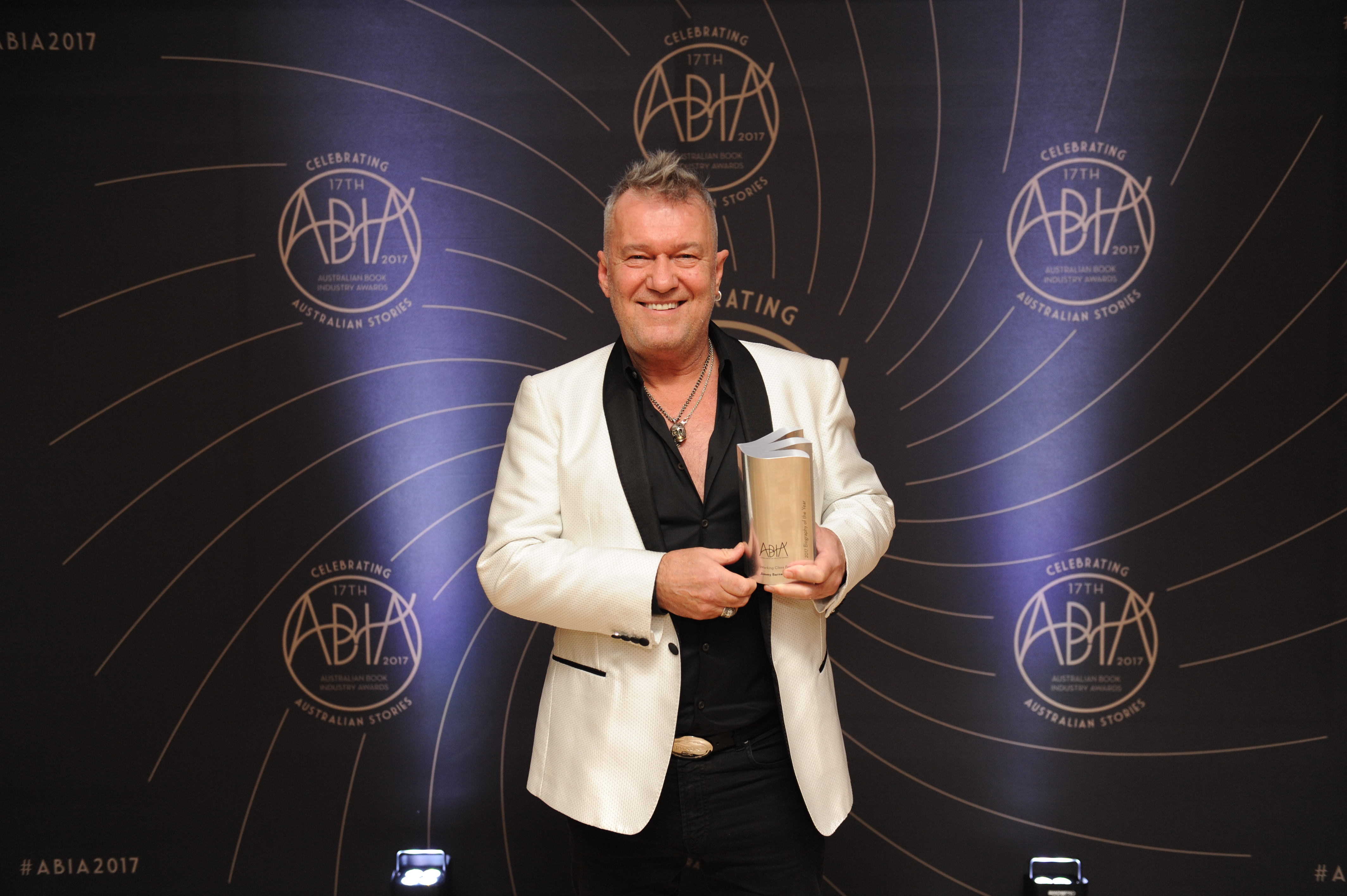 Jimmy Barnes, author of Working Class Boy