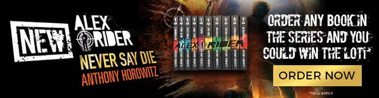 Win the Alex Rider series!