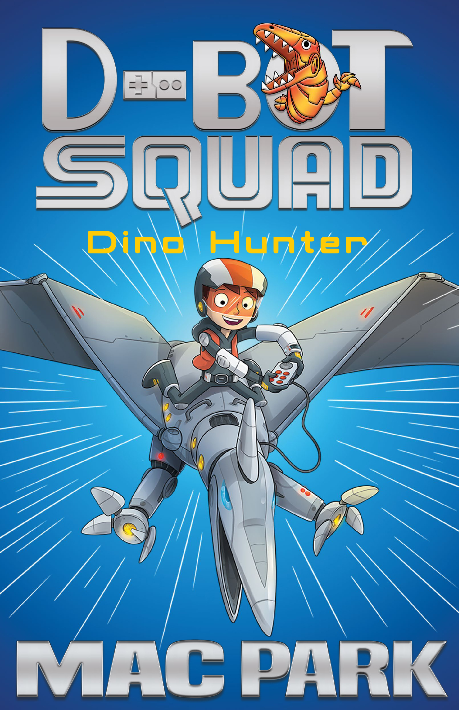 Dino Hunterby Mac Park, James Hart (Illustrator)