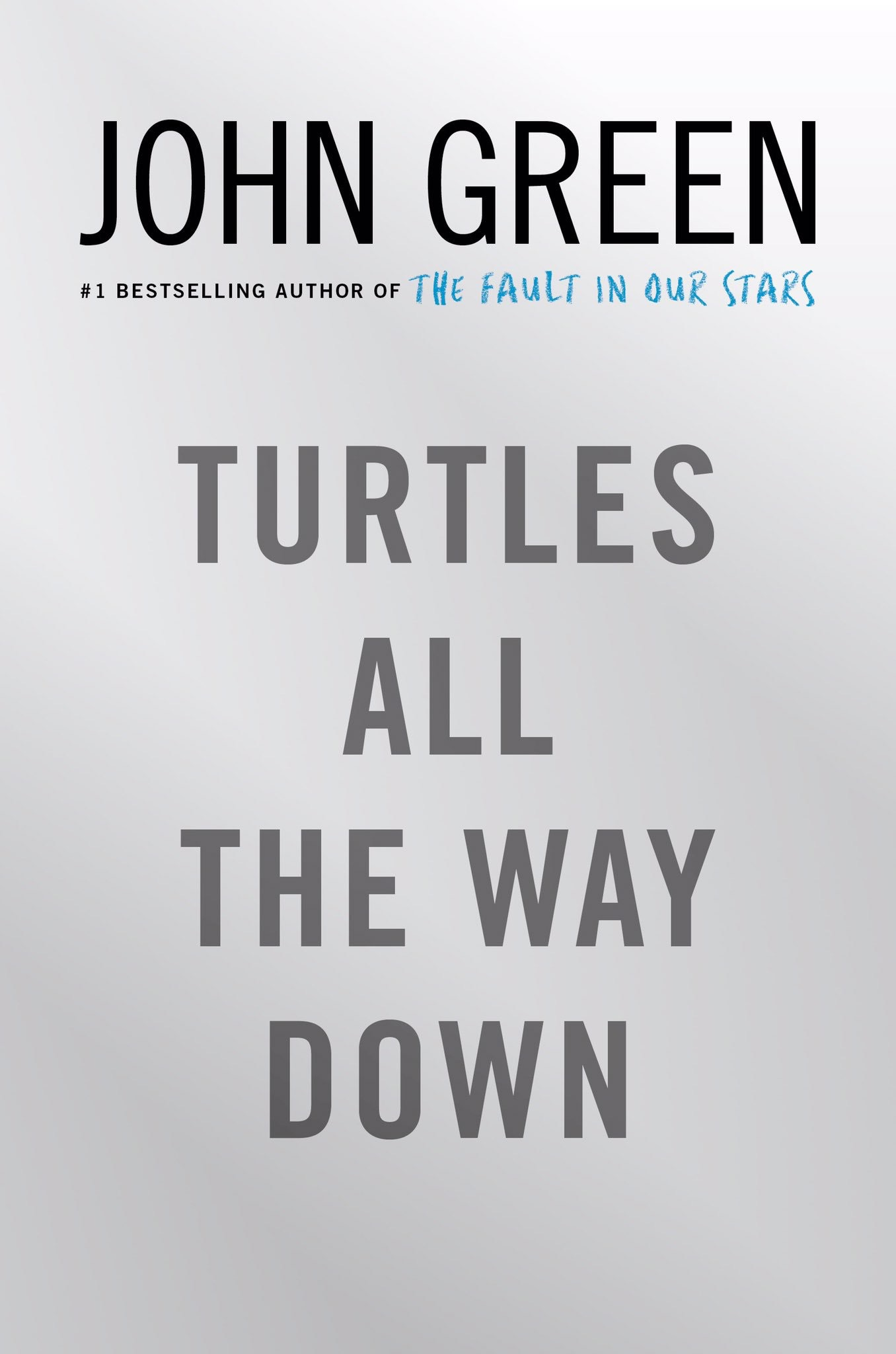 Turtles All the Way Downby John Green