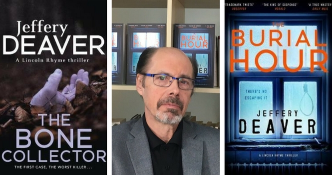 Signed copies available of both The Bone Collector and The Burial Hour