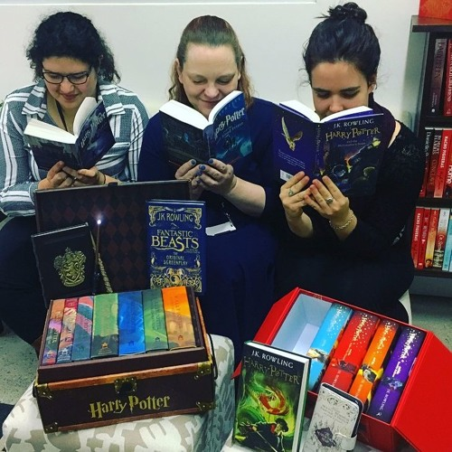 Listen to Booktopia's Harry Potter podcast