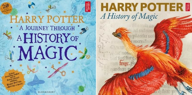 Harry Potter British Library Books
