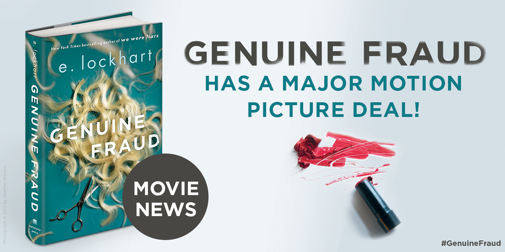 Genuine Fraud by E. Lockhart.