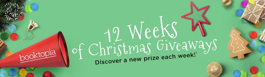 Booktopia's 12 Weeks of Christmas Giveaways: Discover a new prize each week!