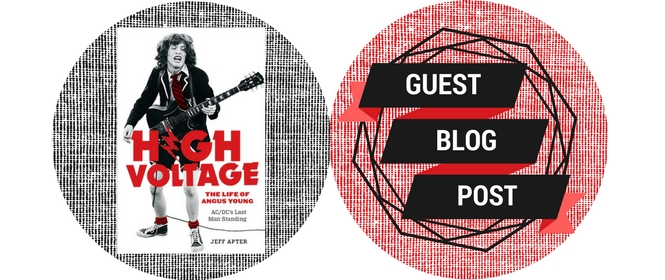 Guest blog post from Jeff Apter, author of High Voltage: The Life of Angus Young.