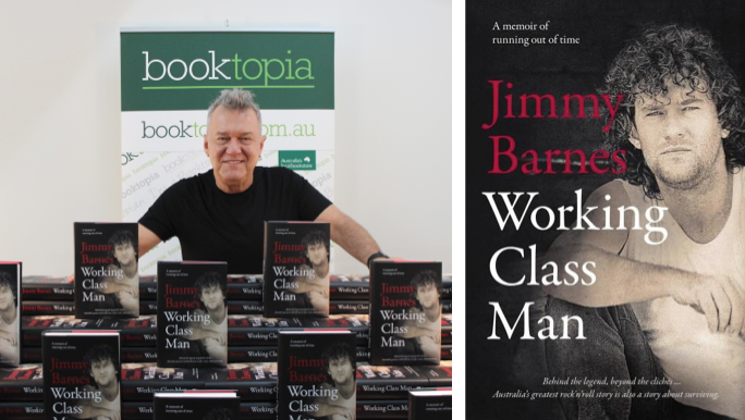 Top 50 Favourite Australian Authors: Jimmy Barnes