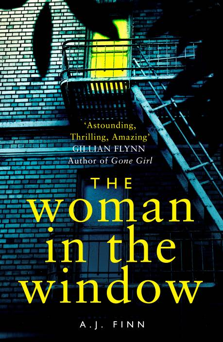 The Woman in the Window by A. J. Finn.