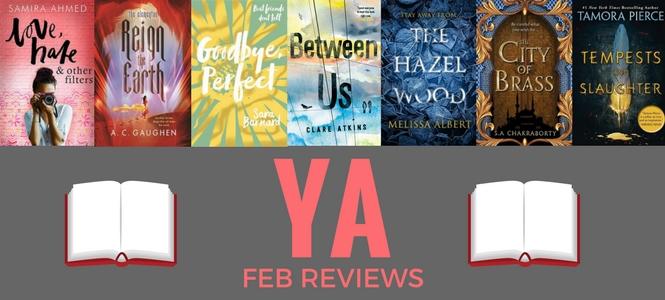 YA February Reviews - YA Books