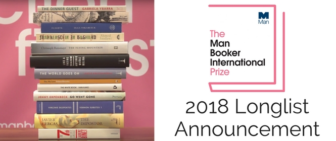 The Man Booker International Prize 2018 Longlist