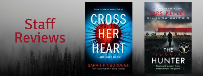 Two new must-read thrillers!