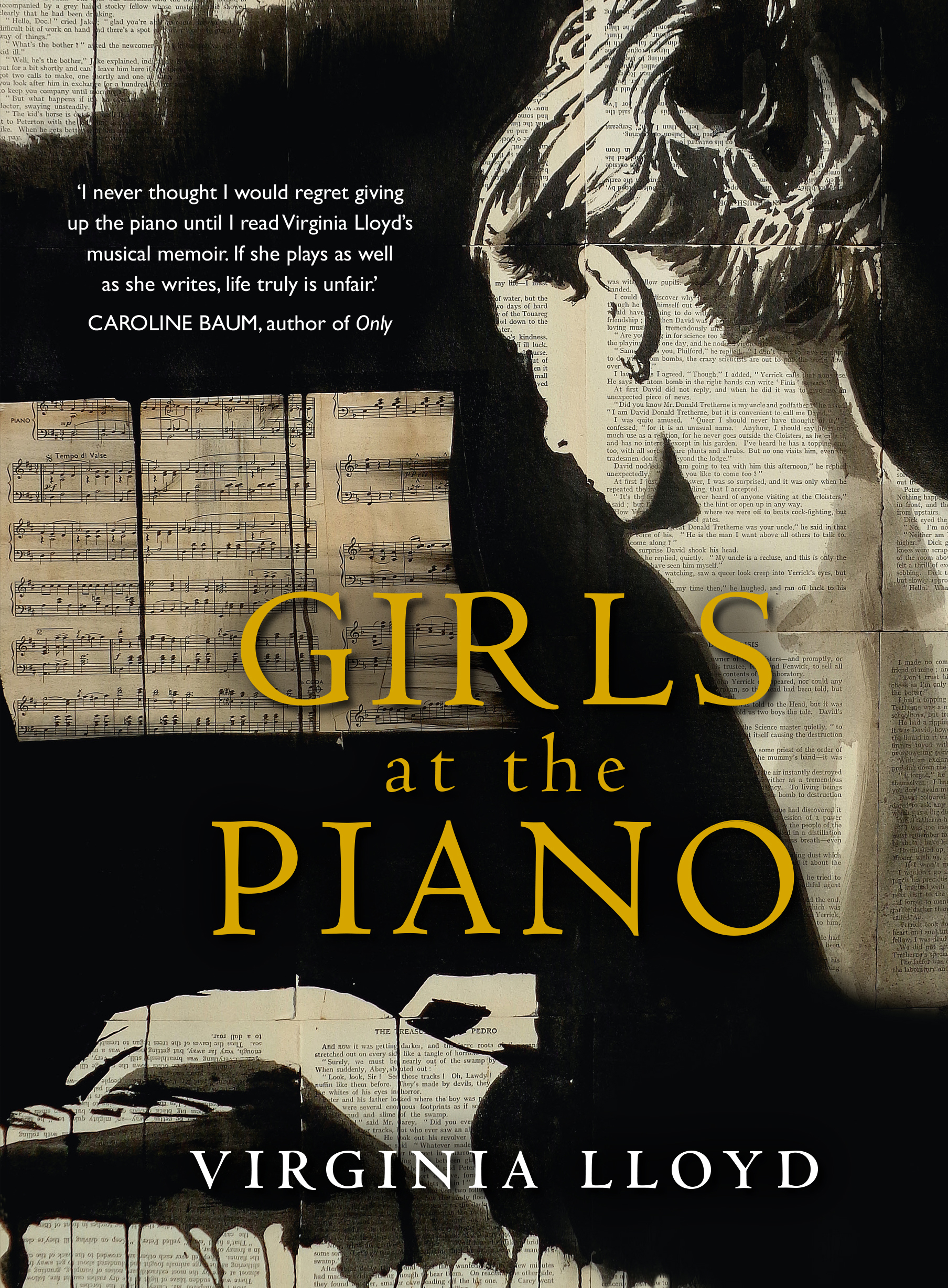 Girls at the Pianoby Virginia Lloyd
