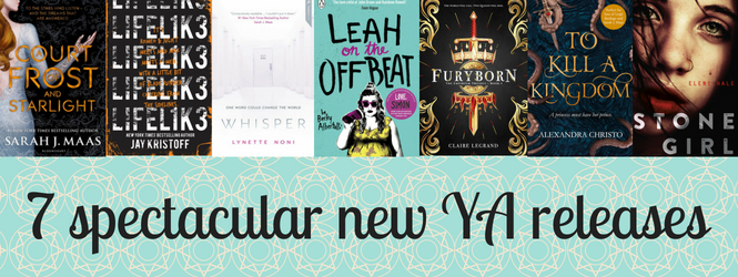 7 spectacular new YA releases
