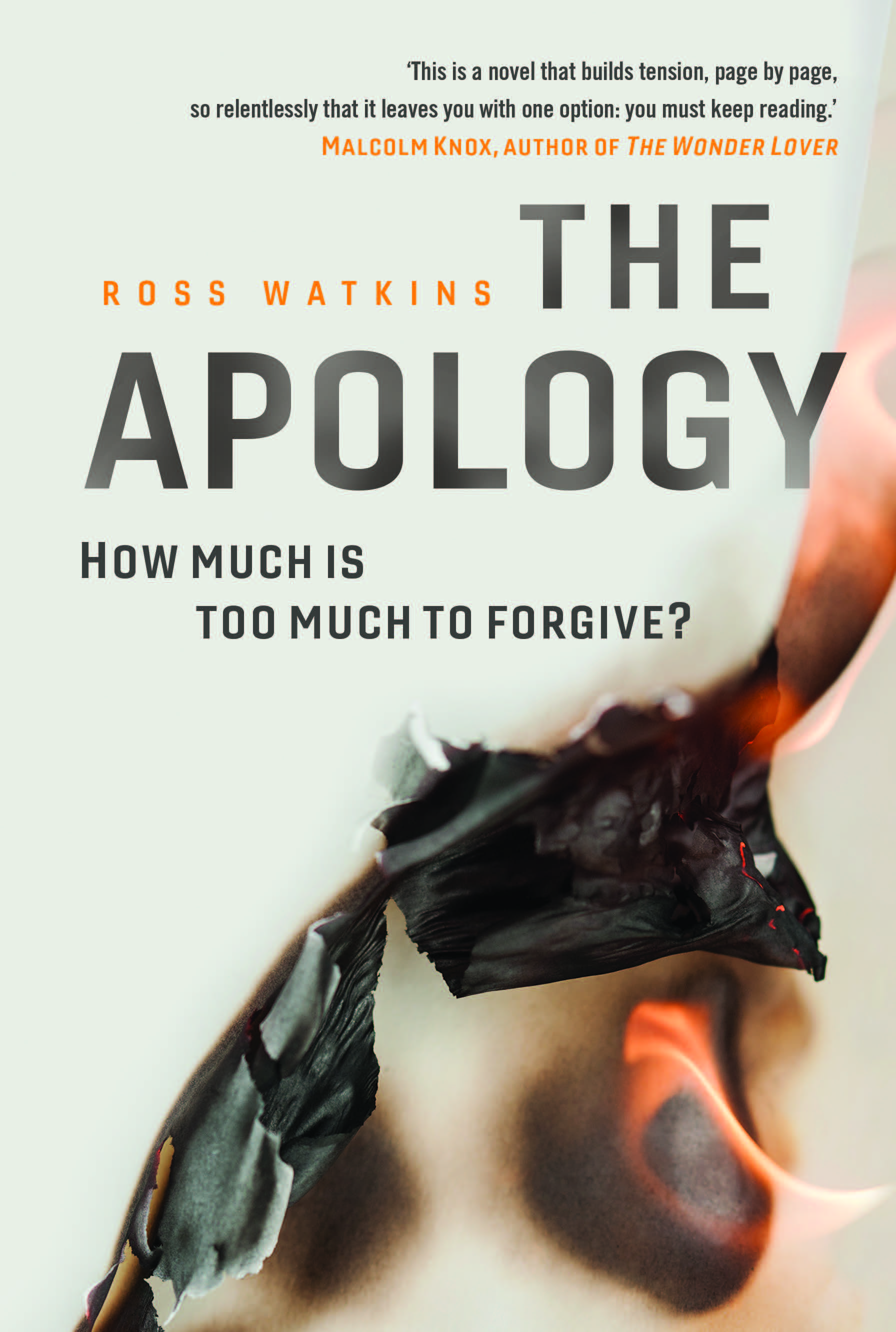 The Apologyby Ross Watkins