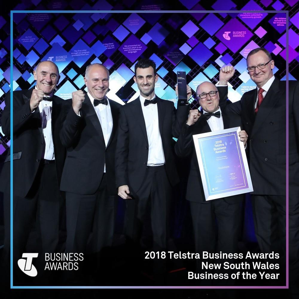 Telstra Business Awards 2018